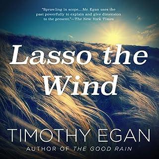 Lasso the Wind audiobook cover art