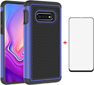 Asuwish Phone Case for Samsung Galaxy S10e with Tempered Glass Screen Protector Cover Cell Accessories Slim Rugged Hard Hybrid Full Body Rubber Heavy Duty Protective Glaxay S 10e S10 10 e Women Men