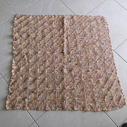 Babydecke Schulz-Decke handgestrickt Wolle mit Baumwollanteil Einzelstück ca. 95 x 100 cm