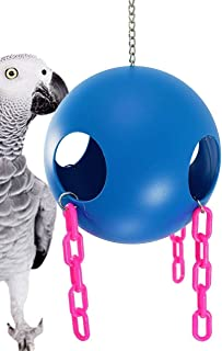 Bonka Bird Toys 1439 Large Jolly Ball Parrot Conure cage Swing hut Play Center. Quality Product Hand Made in The USA.
