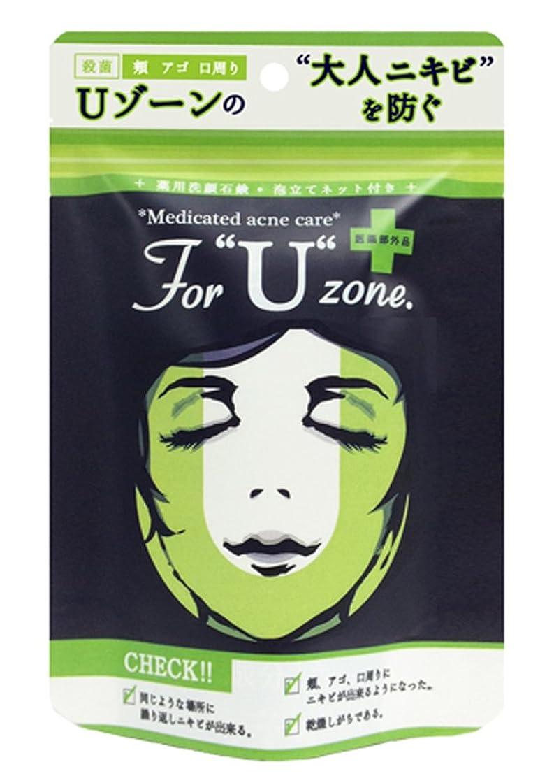 ジレンマ準備ができてペイン薬用石鹸 ForUzone 100g