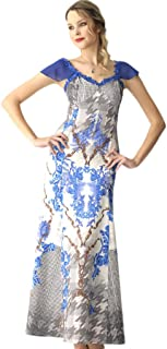 fe898ce5032f6 2332 Dodona Özel Tasarım Uzun Şık Abiye Gece Yazlık Elbise