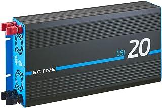 ECTIVE 2000W 24V omvormer naar 230V met een zuivere sinus CSI 20 met acculader, NVS- en UPS-functie