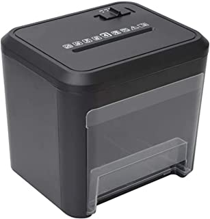 Anay Shredder Shredder Oil Shredders Cross Cut Home a4 Paper 4×32mmElectric Micro Cut 3.5 Litre Bin Thermal Overload Prote...