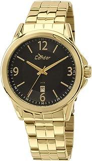 85d6f0edfef Moda - Dourado - Relógios   Feminino na Amazon.com.br
