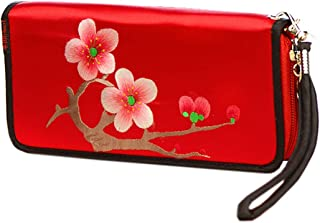 HangErFeng Women's Handbag Silk Hand Embroidered Chinese Wallet Gift Packaging H1061