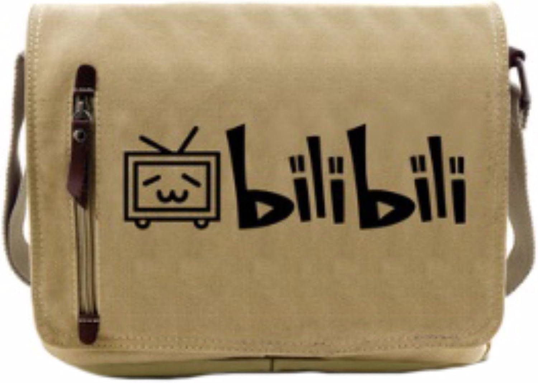 Animanga rare Schultertasche Tasche Shoulder Bag Rucksack reisetaschen Fernseher Set bilibili new