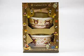 ShopKooky Ceramic Gift Boxes Attractive Cartoon Character Printed Ceramic Bowl Set with spoon | Specially Designed For Kid...
