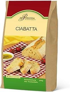 Backmischung Ciabatta 500g inkl. Hefe 7,98 €/ 1 kg