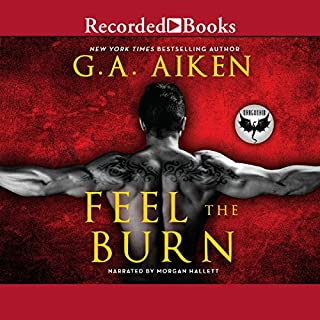 Feel the Burn audiobook cover art