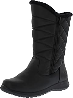Khombu Women's Carly Dual Side Zipper Snow Boots(Also Available in Wide Width)