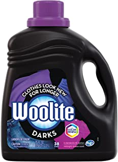 Woolite Darks Liquid Laundry Detergent, with Color Renew, HE & Regular Washers, Midnight Breeze Scent, 75 oz/ 38 Loads