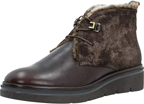 botas para mujer, Color marrón, Marca HISPANITAS, Modelo botas para mujer HISPANITAS HI76083 marrón