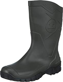Dunlop Bottes en Caoutchouc Homme - Vert Foncé- 45 EU