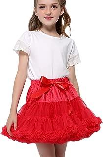 Girls Rosa e Nero Crinolina Sottoveste Costume Libro Settimana Taglia 4-12 anni