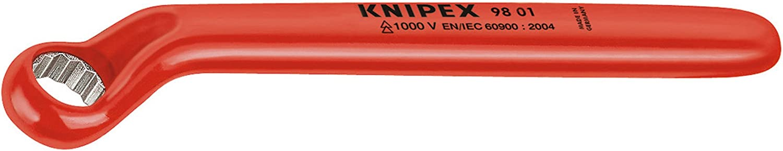 Knipex 98 01 24 1000 V isoliert 24 mm gekröpft Rohrsteckschlüssel B005EXPEXQ | Primäre Qualität