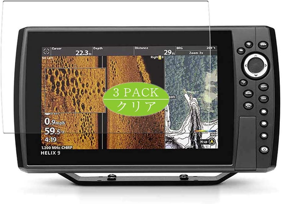 Financial sales sale 3 Pack Synvy Screen Protector Milwaukee Mall with Humminbird HELI Compatible