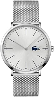 Lacoste Mens Analogue Classic Quartz Watch with Stainless Steel Strap 2010901