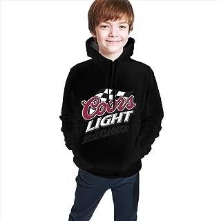 Boy's&Girl's Funny Running Fleece Print Coors Light Racing