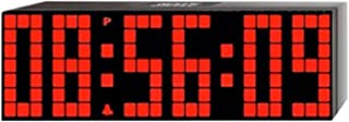 Lattice LED Digital Alarm/Countdown/Up Clock with Remote