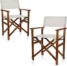 2x Chaise De Camping Chaise Pliante Chaise De Pêche Chaise Réalisateur Pliante Chaise de jardin pliant