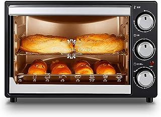 L.TSA Mini Horno de Cocina, Horno de cocción Profesional Multifuncional de Gran Capacidad de 32 litros para Uso doméstico, horneado Profesional de Pasteles y Galletas con Control de Temperatura pr