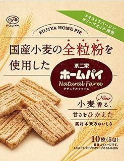 不二家 ホームパイナチュラルファーム(全粒粉) 10枚×5袋