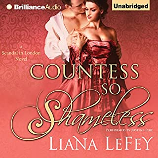Countess So Shameless audiobook cover art