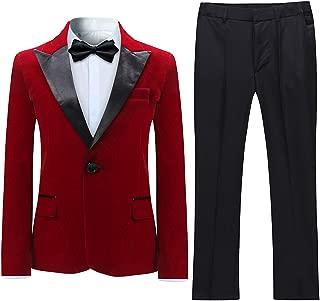 boys velvet suit