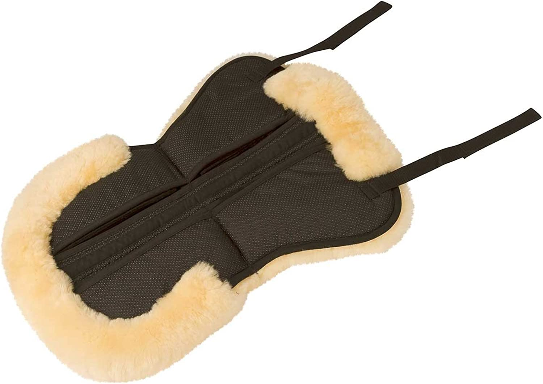Kerbl 328129 Lambskin Anti Slip Pony Correction Saddle Cushion