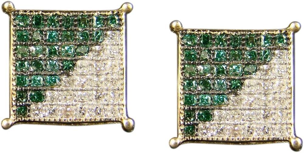 Gemhub orecchini pendenti in oro giallo e diamanti ERNG-030