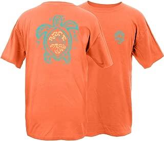 Sea Turtle Frog Garment Dye Short Sleeve T-Shirt