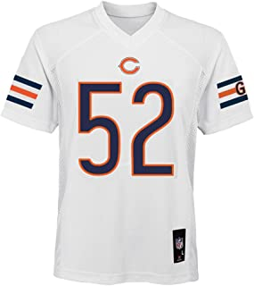 Outerstuff Khalil Mack Chicago Bears NFL Youth 8-20 White Road Mid-Tier Jersey