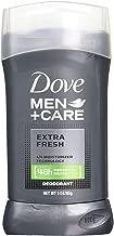 Dove Men Plus Care Non Irritant Deodorant, Extra Fresh, 3.0 Ounce (Pack of 4)