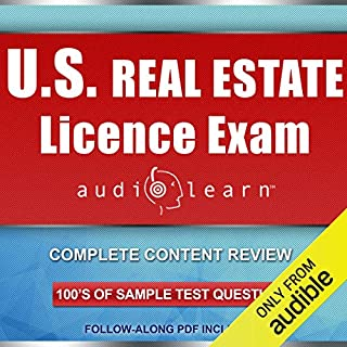 The PSI National Real Estate License Exam (Audiobook) by The