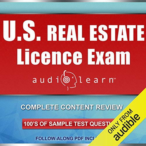 US Real Estate License Exam AudioLearn Audiobook By AudioLearn Content Team cover art