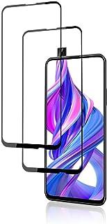 لهواوي Y9 برايم آند أونر 9X/9X Pro 2019 واقي شاشة كامل من الزجاج المقوى الأسود 2 حزمة