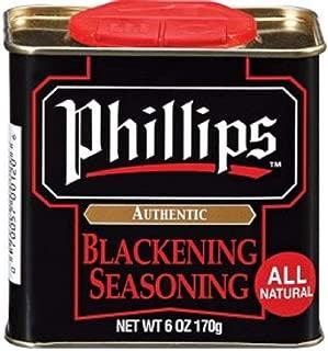 Phillips Blackening Seasoning used in Phillips Seafood Restaurants on Blackened Chicken, Fish & Seafood