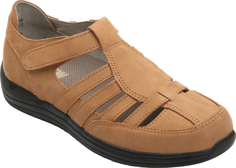Drew skor Woherrar Woherrar Woherrar Ginger läder Casual Sandals Cork Nubuck Storlek 10.0  varumärke