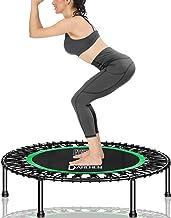 Darchen Mini Trampoline voor volwassenen, Indoor kleine rebounder oefening trampoline voor workout, fitness voor rustige e...