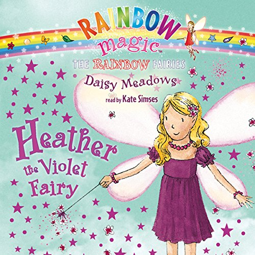 Rainbow Magic: Heather the Violet Fairy audiobook cover art