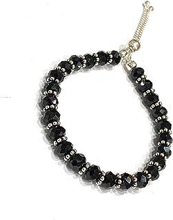 DARSHRAJ JEWELLERS Exclusive 925 Sterling Silver Multi Colour Nazariya Bracelet With Adjustable Lock for Women & Girls (1...
