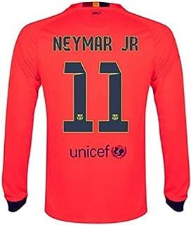Nike 2014-15 Barcelona Long Sleeve Away Shirt Neymar #11 Adult XL