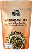 True Elements Antioxidant Seeds Mix - Roasted Sunflower, Pumpkin, Flax, Watermelon, Chia with Goji Berries 125gm - High in...