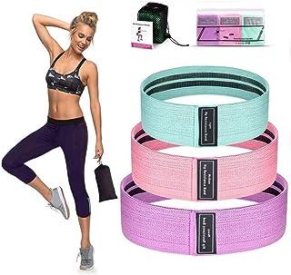 Hip Resistance Bands Glute Activation Bands for Gym Home Workout Glute Loop Exercise Bands Set Skid Resistance (3PCS)