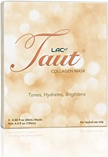 Taut Collagen Mask - Tone, Hydrate and Brighten (5 Sheets)