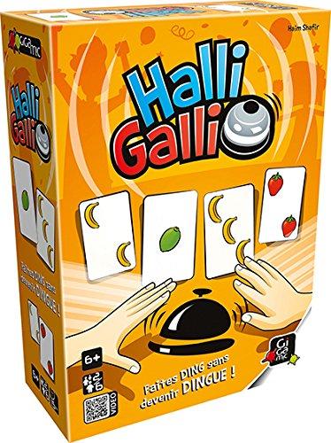 Gigamic - AMHGST - Jeu de Cartes d'Action et de Réflexes - Halli Galli
