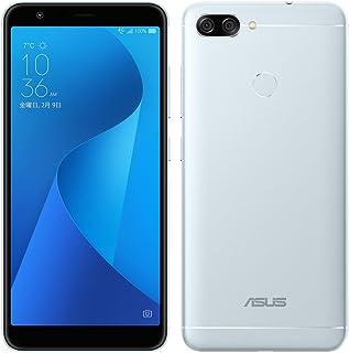 エイスース ZenFone Max Plus (M1) アズールシルバー(SIMフリースマートフォン) ZB570TL-SL32S4