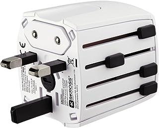 """Hama Adaptateur de voyage """"MUV Micro"""" (à 2 pôles, pour Type A (Amerique), Type C, CEE 7 / 16 (Europe), Type I (Australie))..."""