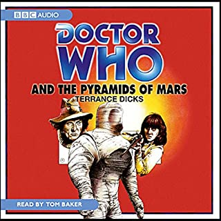 Doctor Who and the Pyramids of Mars audiobook cover art